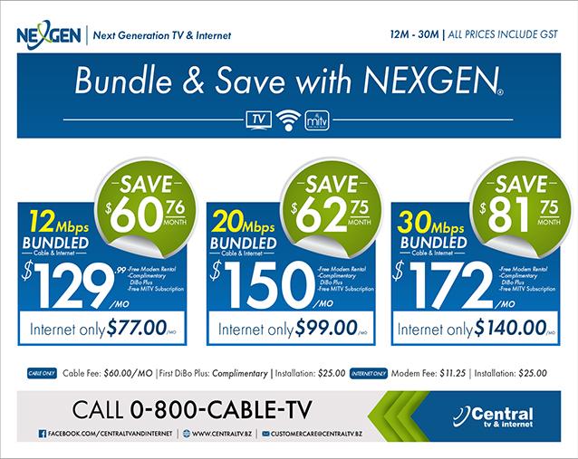 Next Generation TV & Internet | Central TV & Internet